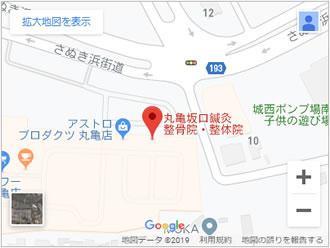 丸亀院地図