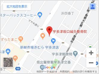 宇多津院地図